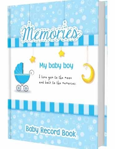 Baby Boy Record Book