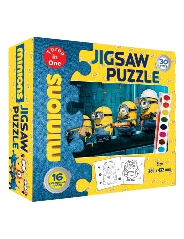 Jigsaw Puzzle Minions