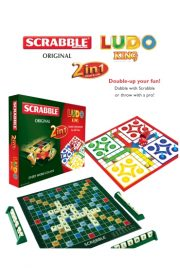 2 in 1 Ludo King and Scrabble Original