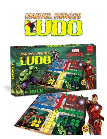 Ludo Marvel Hero
