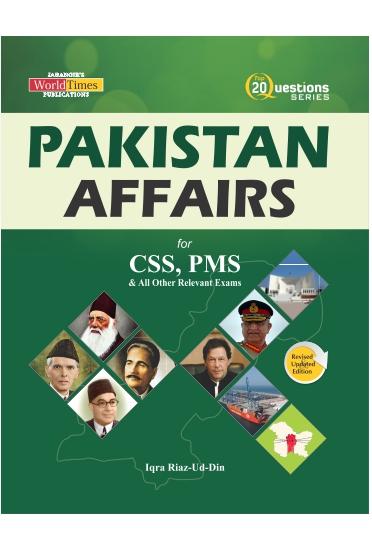 Pakistan affair for CSS & PMS 20 Question