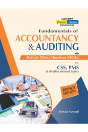 Accountancy & Auditing with Mcqs