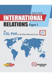International Relations 20Q Paper 1 (Sajjad Haider)