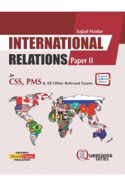 International Relations 20Q Paper 2 (Sajjad Haider)