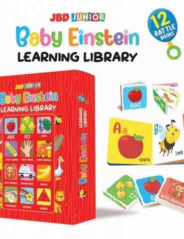 Baby Einstein Library 12 Rattle Books